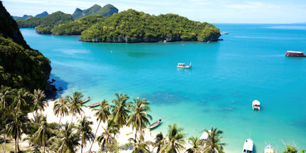 Thailand is filled with tropical white sandy beaches and translucent water