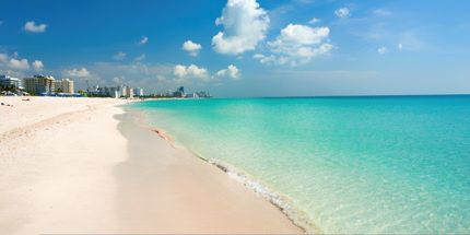 Enjoy lapping up the rays in South Beach, Miami