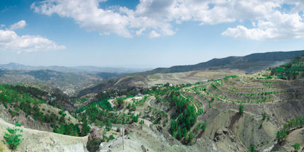 November is one of the best times to hike or bike Troodos Mountain trails