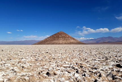 Unlike neighbouring Bolivia, Argentina's salt flats are crowd-free