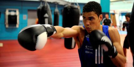 British middleweight boxing hopeful Anthony Ogogo