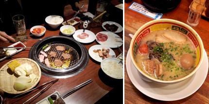 Foodie Japan - BBQ+ramen