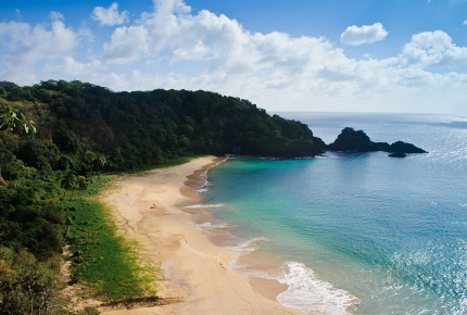 Baia Do Sancho has been voted the best beach in the world