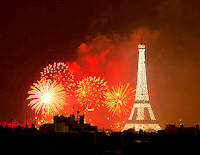 Bastille day, Paris