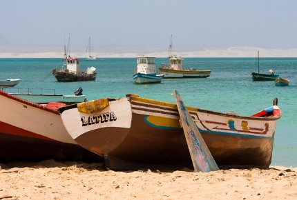 Be a beach bum on the isles of Cape Verde this April.