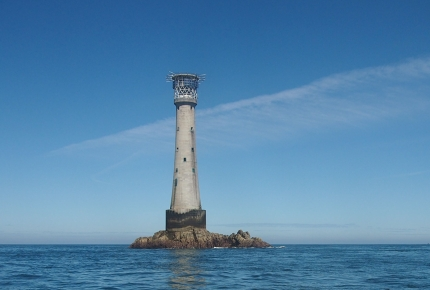 Bishop Rock's lighthouse has been standing since 1851