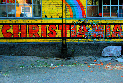How has 'normalisation' changed Christiania, Denmark?