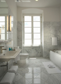 Casa Gangotena Bathroom