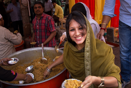Communal meals are a more sustainable way of eating