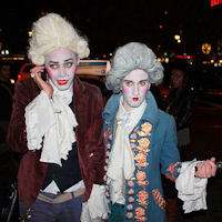 NYC Halloween dandies