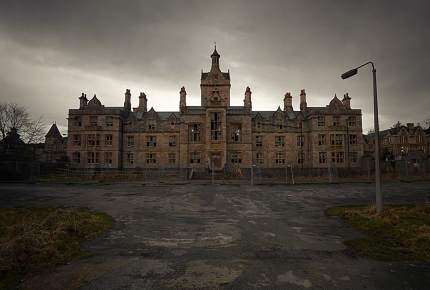 Denbigh Mental Asylum housed Welsh paupers with mental health problems