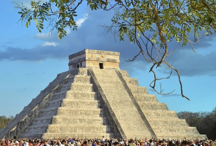 El Castillo is the centrepiece of the ancient city