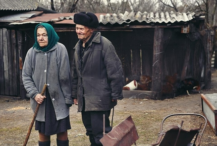 Evacuated after the Chernobyl disaster, Ivan and Maria returned to Paryshiv