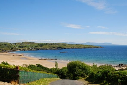 Fintra is one of the nicest and safest beaches in Ireland