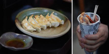 Foodie Japan - Gyoza+streetfood