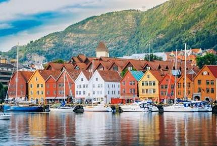 Hanseatic wharf in Bergen, Norway