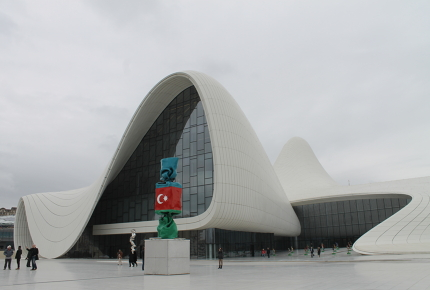 Heydar Aliyev Center was modelled on the signature of its namesake