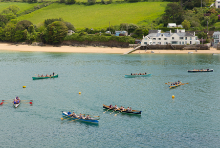 Idyllic scenes and excellent seafood abound in Salcombe