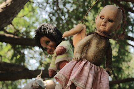 The eerie Island of the Dolls, just outside Mexico City