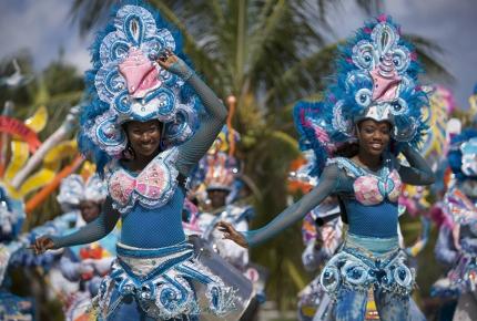 Junkanoo in full swing in the Bahamas