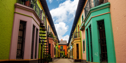La Candelaria, Bogota's colourful colonial quarter