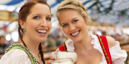 Lederhosen and lager are order of the day at Oktoberfest
