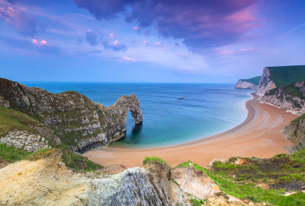 Love's Behind The Durdle Door
