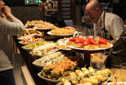 Mesón Portaletas offers quite a spread