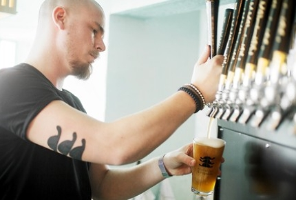 Mikkeller & Friends offers 40 craft beer on tap