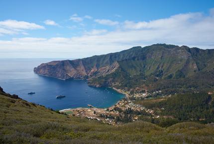 Modern-day Más a Tierra, aka Robinson Crusoe Island