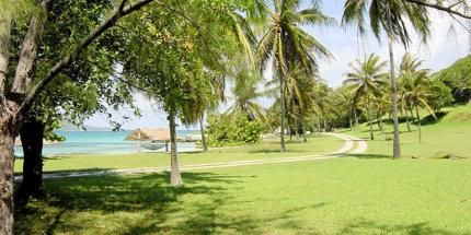 Petit St. Vincent beach