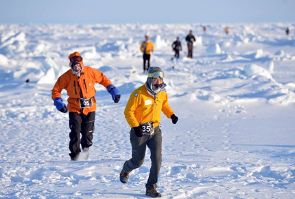 Push yourself this April and race down the world's coolest marathon in the Arctic.