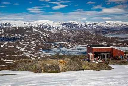 Riksgränsen: the world's most northerly ski resort.