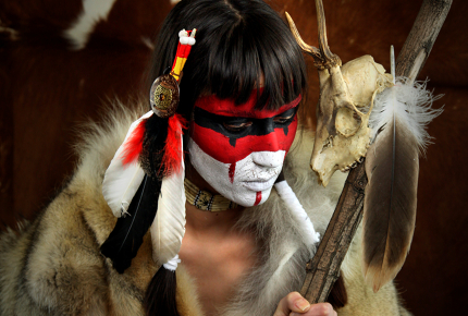 Shamans are revered for their spiritual insight