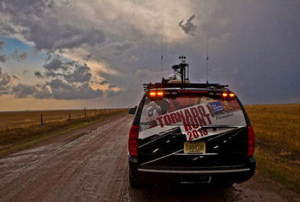 Storm Chasing Tours are growing in popularity across the US