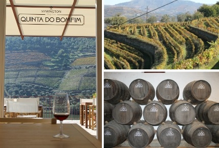 Symington's newly opened Quinta do Bomfim vineyard