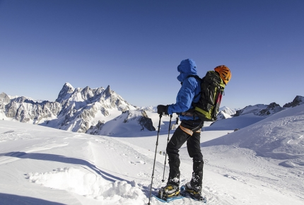 Tackle down the dangerous slopes of Mont Blanc this April.