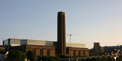 The Tate Modern is one of London's most iconic buildings