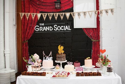 The Grand Social sells everything from vintage clothes to cakes