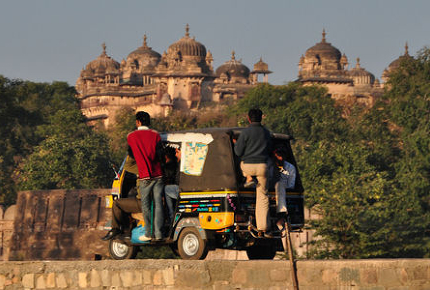 The Rickshaw Run is a 3,500 km journey through India
