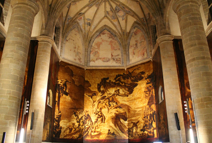 The San Telmo Museoa's murals are grand in both scale and design