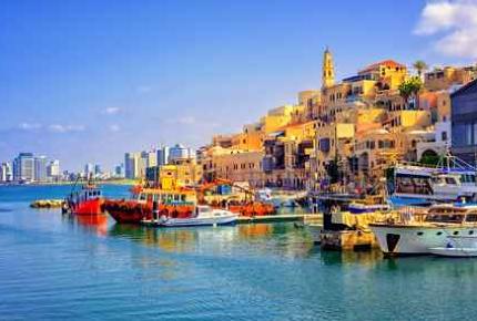 The old town of Jaffa, Tel Aviv, Israel.