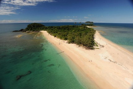 The strikingly pretty Frankland Islands are just south of Cairns