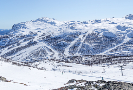 The wildland of Hemsedal, Norway
