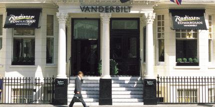 The Vanderbilt's entrance