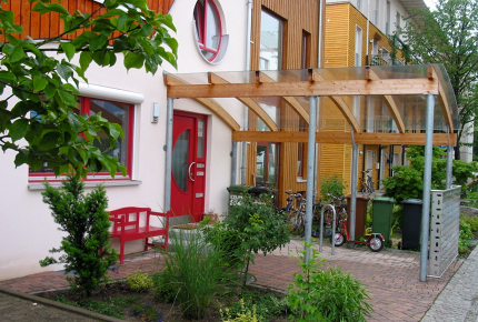 Vauban in Germany swapped cars for communal space