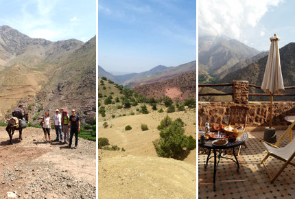 The Atlas Mountains' ever-changing scenery