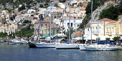 Flotillas in Greece  © Creative Commons / flotilla-greece-symi