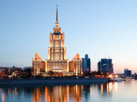Tall hotels with bars - Moscow