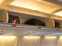 Overhead Luggage Airplane 200